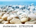 Easter Egg From A Stone With...