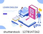 language school concept. can... | Shutterstock .eps vector #1278147262