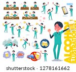 a set of doctor man related to... | Shutterstock .eps vector #1278161662