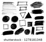 pencil texture lines and design ... | Shutterstock .eps vector #1278181348