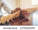 problem solving close up view... | Shutterstock . vector #1278183355