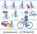 a set of delivery man riding a... | Shutterstock .eps vector #1278186235