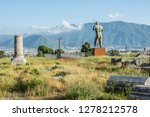 pompeii is the most visited... | Shutterstock . vector #1278212578