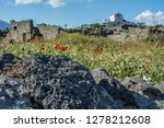 pompeii is the most visited... | Shutterstock . vector #1278212608