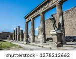 pompeii is the most visited... | Shutterstock . vector #1278212662