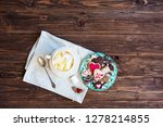 cup of cocoa with marshmallows... | Shutterstock . vector #1278214855