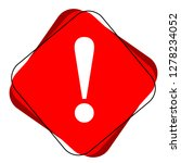 danger warning attention or... | Shutterstock .eps vector #1278234052