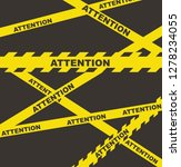 danger warning attention or... | Shutterstock .eps vector #1278234055