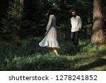 young beautiful slavic couple... | Shutterstock . vector #1278241852
