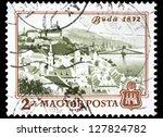 hungary   circa 1972  a stamp... | Shutterstock . vector #127824782