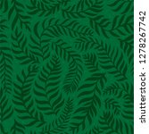 organic background. seamless... | Shutterstock .eps vector #1278267742