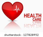 key to health wellness concept. ... | Shutterstock .eps vector #127828952