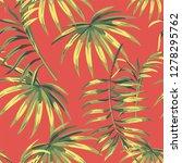 seamless botanical composition... | Shutterstock .eps vector #1278295762