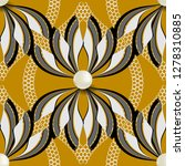 floral abstract elegant vector... | Shutterstock .eps vector #1278310885