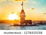 maiden's tower   istanbul ...   Shutterstock . vector #1278325258