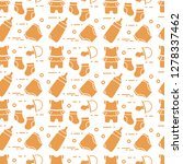 seamless pattern with goods for ... | Shutterstock .eps vector #1278337462