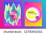 music fest set. feminine trance ... | Shutterstock .eps vector #1278341032