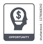opportunity icon vector on... | Shutterstock .eps vector #1278368242