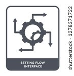 setting flow interface icon... | Shutterstock .eps vector #1278371722