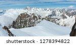 Mont Blanc Rocky Mountain...