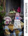 balinese hindu offerings in... | Shutterstock . vector #1278442195