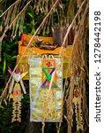 balinese hindu offerings in... | Shutterstock . vector #1278442198