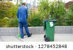 man cleaning staff worker... | Shutterstock . vector #1278452848