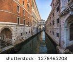 Venice Canal View Boat Bridge - Fine Art prints