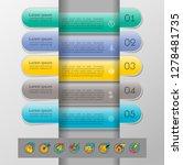 set of infographics elements.... | Shutterstock .eps vector #1278481735