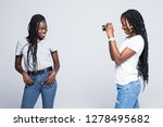picture of one young african...   Shutterstock . vector #1278495682