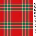 tartan plaid. scottish pattern... | Shutterstock .eps vector #1278503035