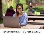 asian american college student... | Shutterstock . vector #1278512212