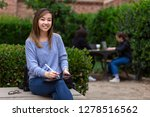 smiling portrait of asian... | Shutterstock . vector #1278516562