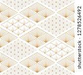 japanese pattern background.... | Shutterstock .eps vector #1278526492