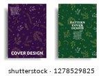 modern cover design template...   Shutterstock .eps vector #1278529825
