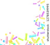 sprinkles grainy. sweet... | Shutterstock .eps vector #1278539995