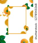 fruit design with white... | Shutterstock . vector #1278543268