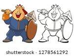 vector illustration of a...   Shutterstock .eps vector #1278561292