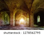 Large Ancient Vaulted Hall Of...