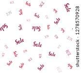 light pink vector seamless...   Shutterstock .eps vector #1278570928