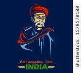illustration of  indian... | Shutterstock .eps vector #1278578188