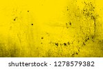 grunge yellow distressed... | Shutterstock .eps vector #1278579382