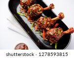 szechuan chicken which is a... | Shutterstock . vector #1278593815