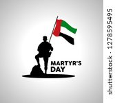 martyr's day illustration... | Shutterstock .eps vector #1278595495