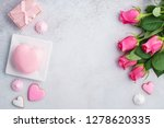 valentine's day greeting card... | Shutterstock . vector #1278620335
