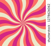 bold and bright wavy retro... | Shutterstock .eps vector #1278626062