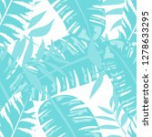 tropical seamless pattern with... | Shutterstock .eps vector #1278633295
