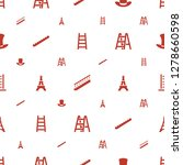 tall icons pattern seamless...   Shutterstock .eps vector #1278660598