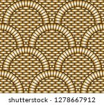 vector abstract seamless... | Shutterstock .eps vector #1278667912