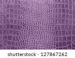 Purple Crocodile Skin Texture...